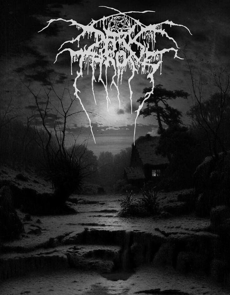 Darkthrone Black Metal Art Heavy Metal Art Metal Music Bands
