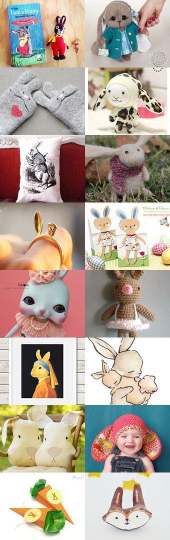 Bunnys!!! by Patricia Stockebrand on Etsy