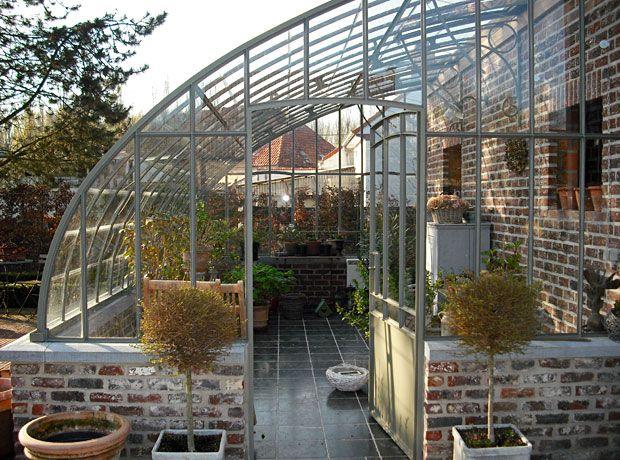 1000 id es sur le th me design jardin sur pinterest jardinage am nagement - Serre de jardin adossee au mur ...