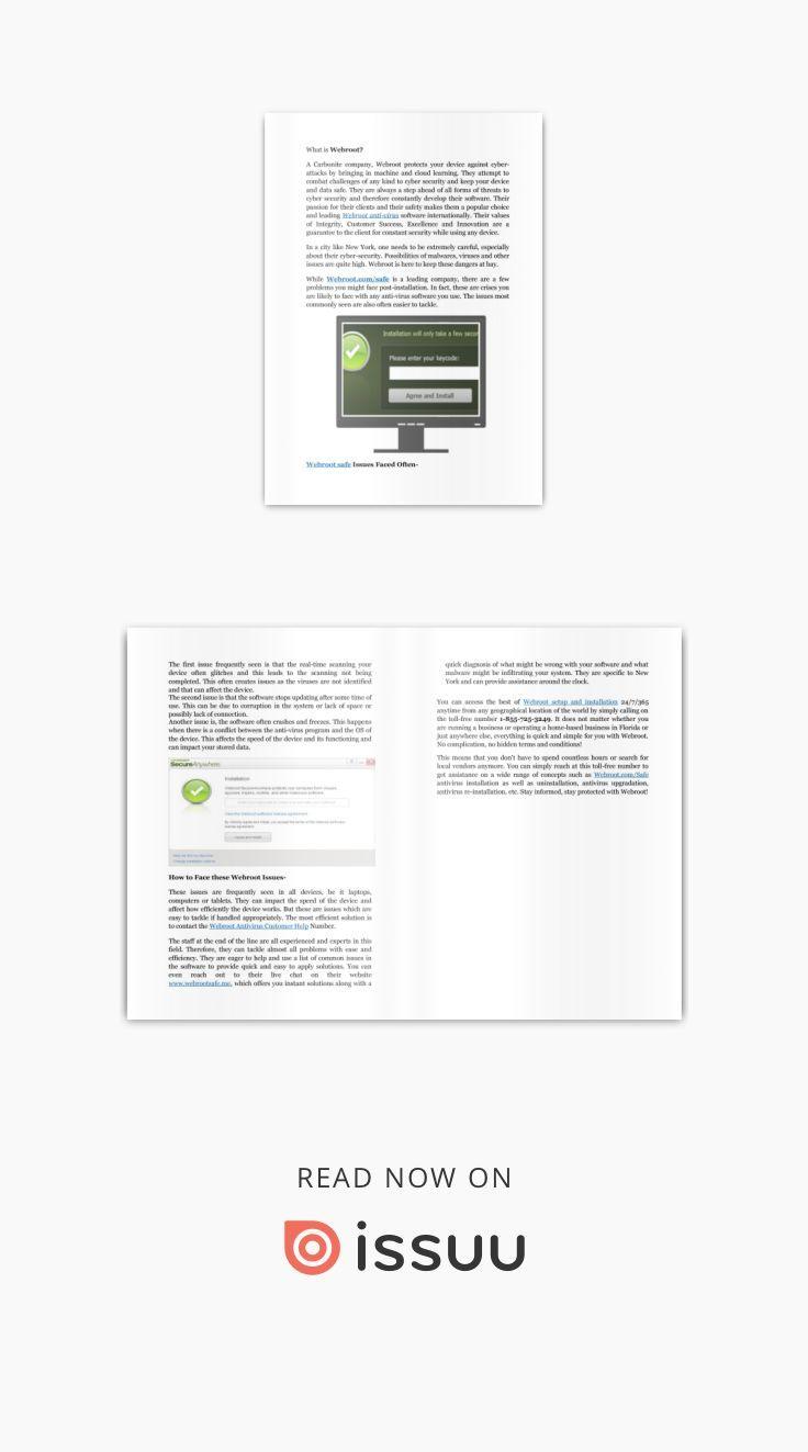 webroot com/safe antivirus installation & activation Toll-free +