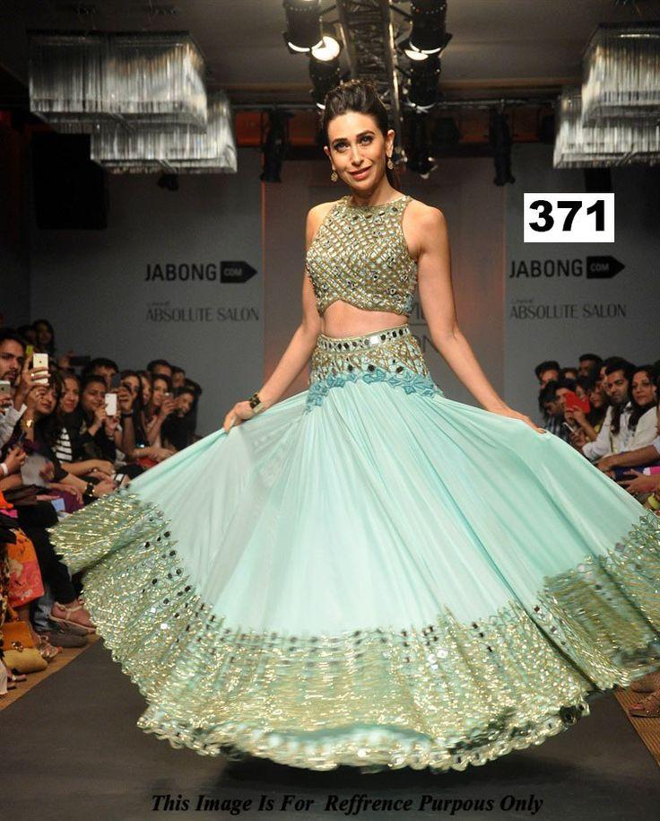 Karishma Kapoor Lehenga At Lakme Fashion Week-Clothing-Vbuyz