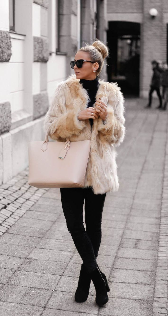 0dbf544eaf Fluffy Coats For Winter... Here Are Some Of The Best Ones