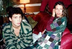 A young Jeremy Sisto with his older sister actress Meadow Sisto