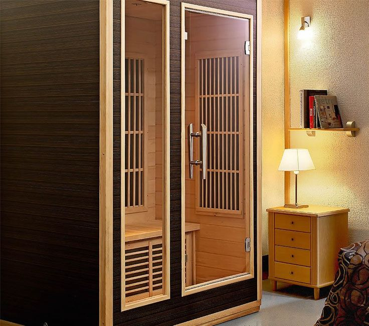 die besten 25 infrarotkabine ideen auf pinterest sauna sauna design und saunen. Black Bedroom Furniture Sets. Home Design Ideas