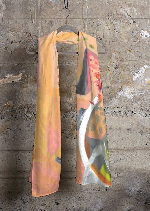 Cashmere Silk Scarf - No Relationships by VIDA VIDA aA5lww