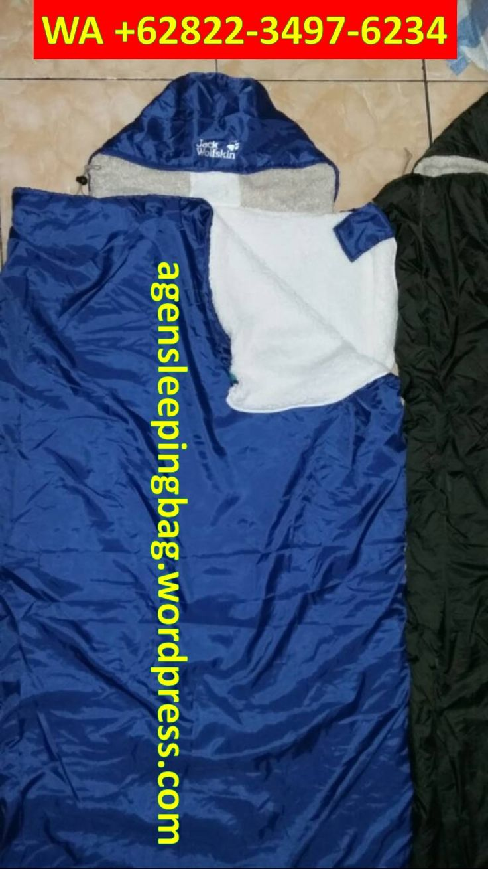 WA +62822-3497-6234, Sleeping Bag Polar Makassar, Kantong Tidur Camping Makassar
