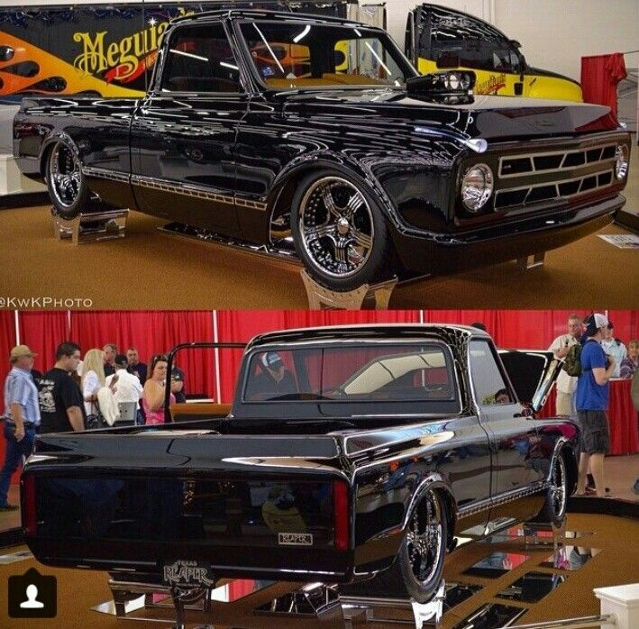67 c10 show truck