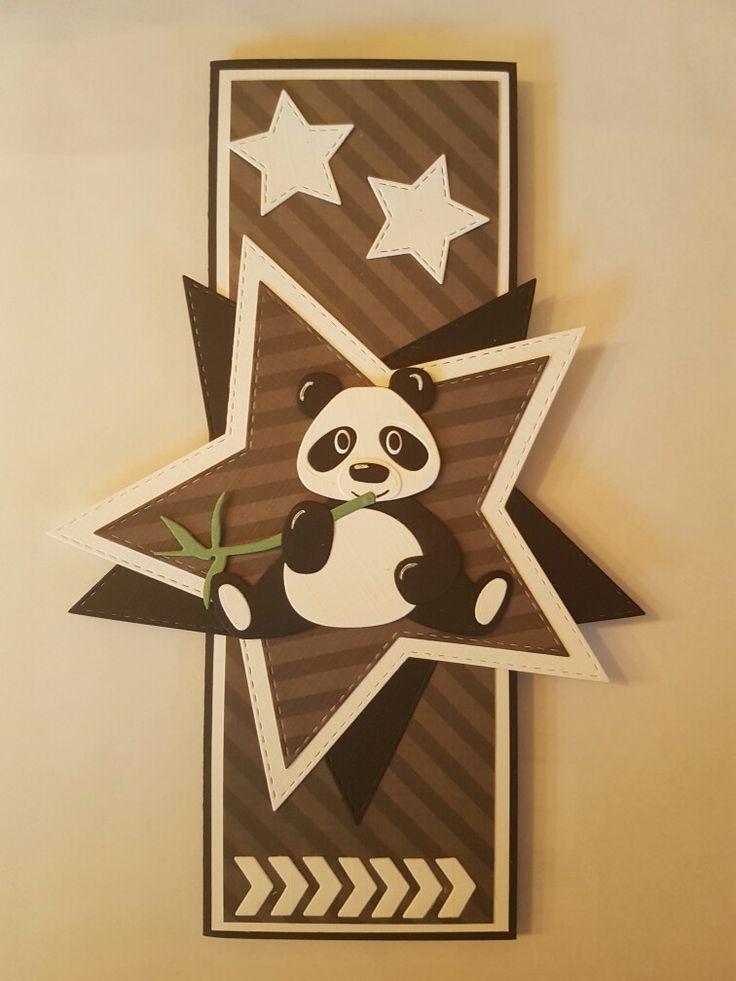 Gemaakt door Hella Coolen: pandabeer