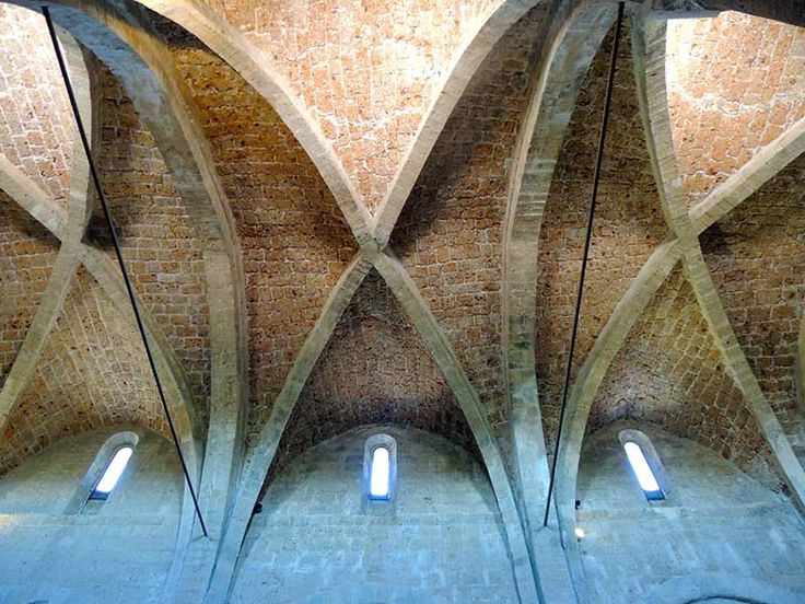 Sovana, Tuscany - Duomo- Ceiling #sovana, #tuscany