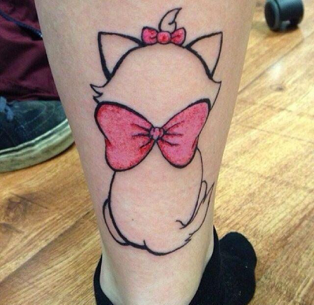 tatuajes pequeños disney aristogatos