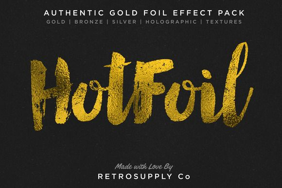 Hot Foil | Foil Stamping Machine by RetroSupply Co. on Creative Market