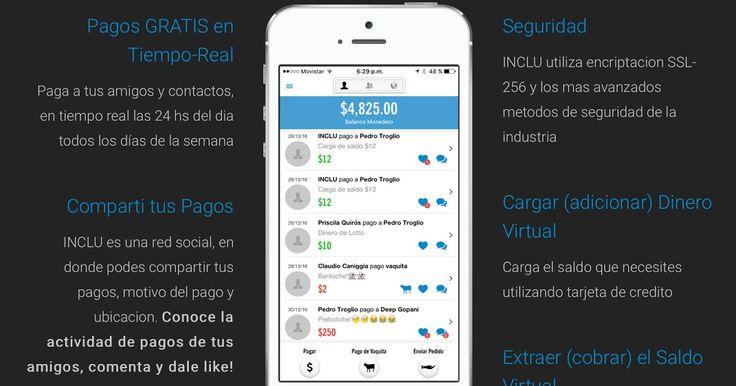 http://ift.tt/2igdHIc http://ift.tt/2ijZugG  Ya disponible tanto para sistema operativo IOS (Apple Store) y Android llega esta innovadora aplicación gratuita de fácil utilización amigabilidad utilidad encriptación y seguridad.  INCLU es el nombre de la primera red social de pagos de Argentina que llega de la mano de INCLUFIN luego de varios meses de desarrollo profesional. INCLU es una herramienta única y gratuita que permite transacciones de dinero de manera fácil y segura. El usuario debe…