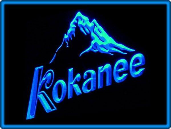 Kokanee Beer Bar Pub Restaurant Neon Light Sign