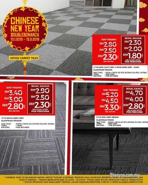 Other For Sale Rm2 In Klang Selangor Malaysia Chinese New Year Double Bonanza For Carpet Tiles Carpet Tile Is The Best Carpet Tiles Buying Carpet Carpet