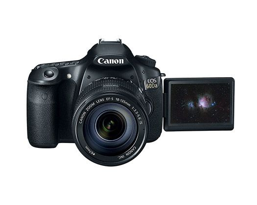 Canon designed its EOS 60Da DSLR camera for astroimaging.