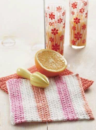 Beginner Crochet Project - Dishcloth