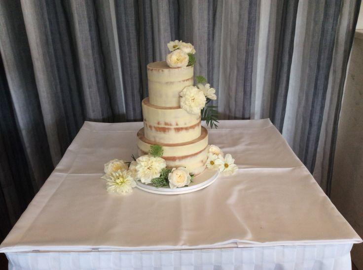Tonight's wedding cake
