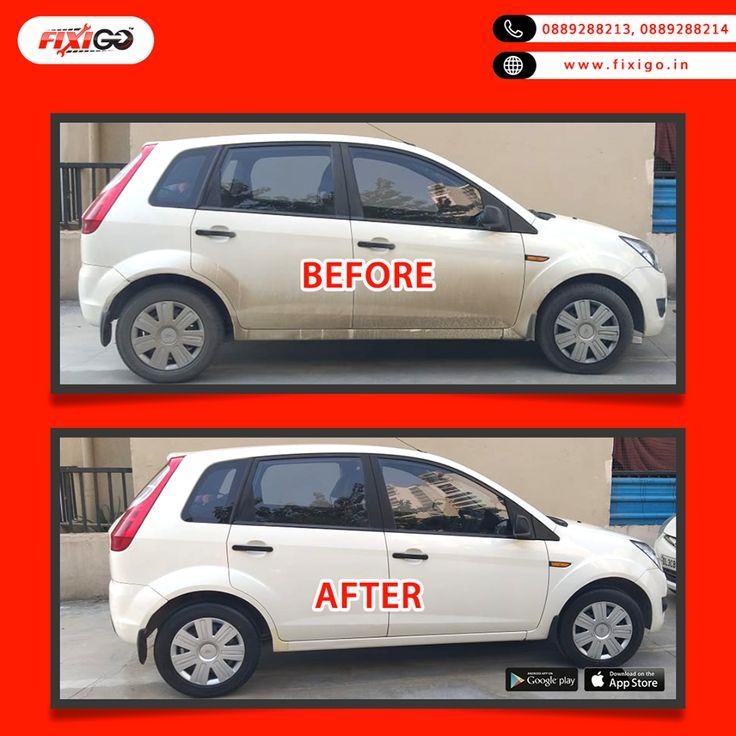Fixigo provides interior and exterior car wash service