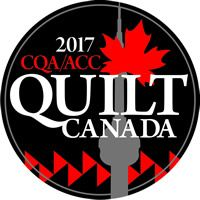 Quilt Canada 2017, Toronto Ontario.  June 14 to 17, 2017.  The International Centre, 6900 Airport Rd, Mississauga ON