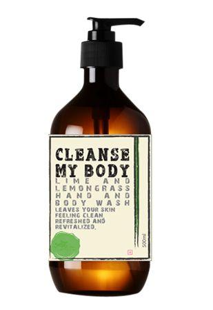 Cleanse My Body Lime & Lemongrass Hand & Body Wash