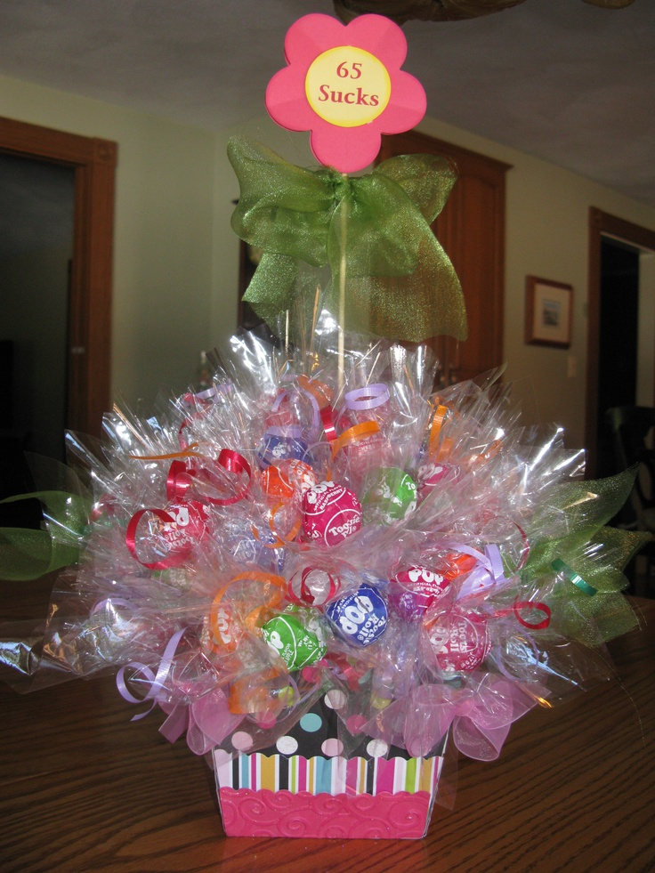 Centerpiece for a th birthdsy gifts pinterest the