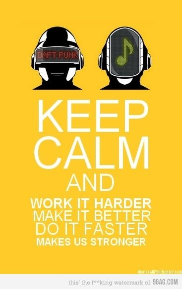 keep calm and daft punk