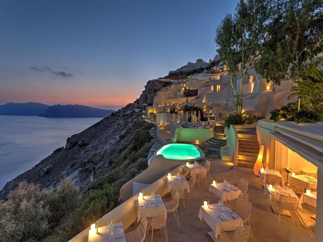 Mystique A Luxury Collection Hotel 5 Stars luxury hotel villa in Oia Offers Reviews
