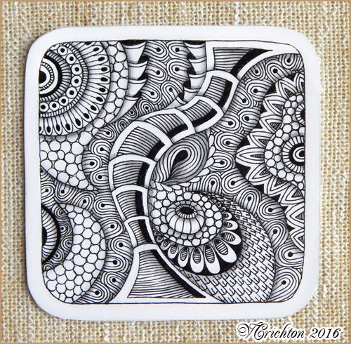 1427 best images about doodling and tangling on pinterest for Zentangle tile template