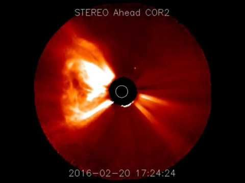 Farsided Filament Eruption and CME 20th February 2016