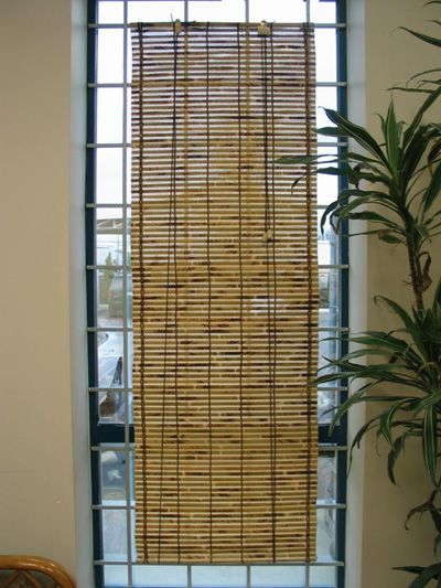 TORO BAMBOO ROLL UP BLINDS!