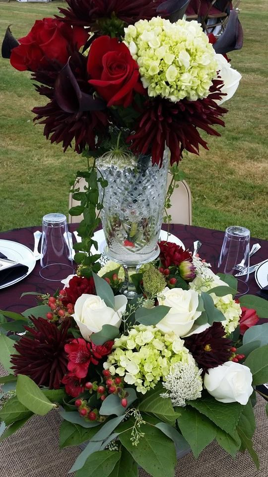 Wedding Parties I Create Weddings Forward Lds Outdoor Burgundy Wedding