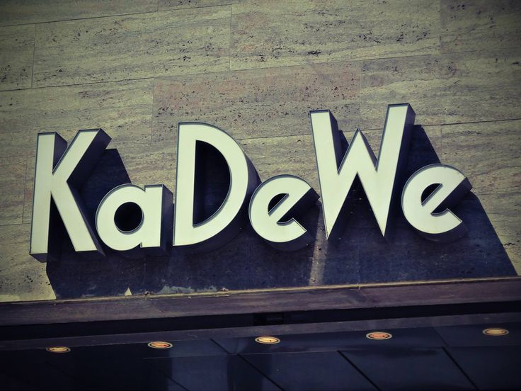 Visit the KaDeWe – Berlin