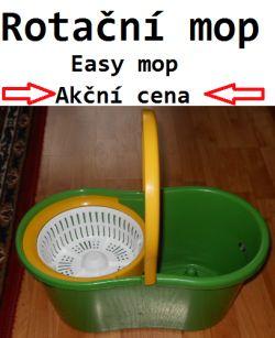 Rotační mop easy zelený