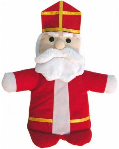 Sinterklaas handpop. Erg leuk voor kinderen om mee te spelen. Voer een toneelstukje op met verschillende poppen.