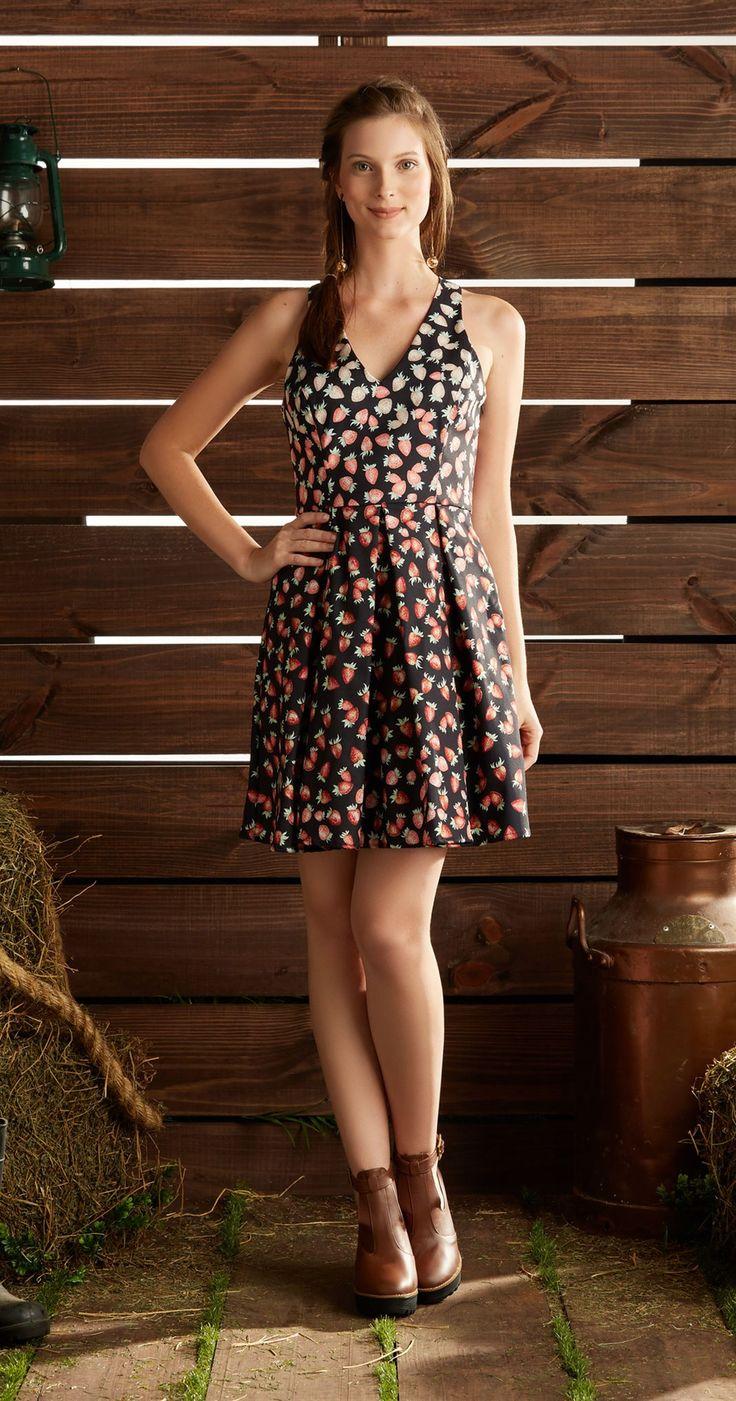 Só na Antix Store você encontra Vestido Renda Fresa com exclusividade na internet