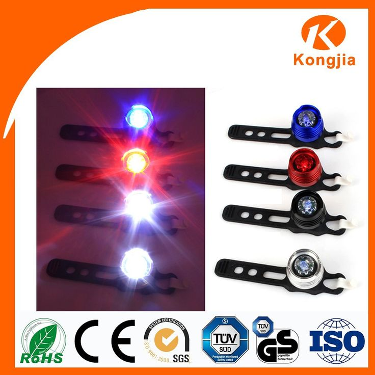 Bicycle Accessory 0.3W Bicycle Led Vehicle Safety Torch Light #bicycles, #Accessories