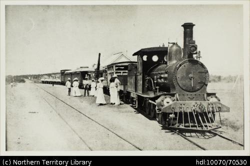Territory Stories: Train / James Pinkerton Campbell