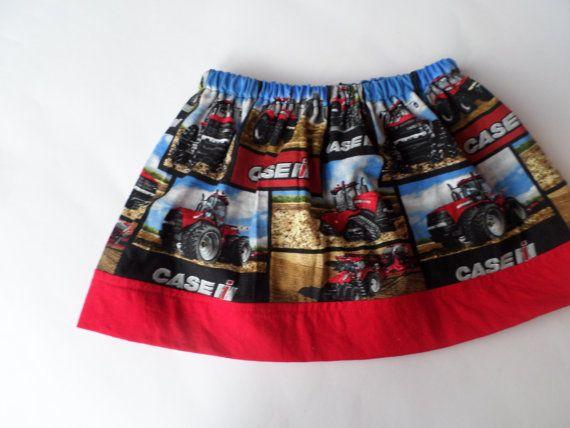 Case IH Skirt  Case IH Girls Skirt  Case IH by SewLittleCreations