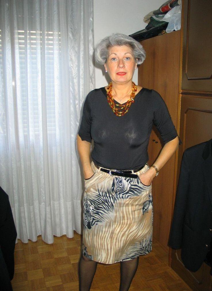 Sexy granny mature