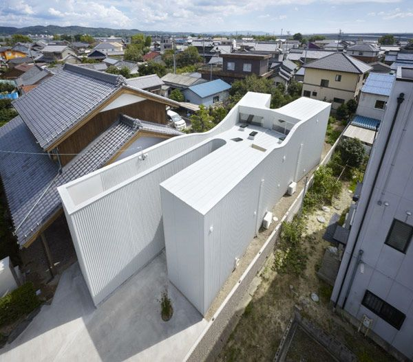 Social House Architecture designed by Japanese architecture firm Katsutoshi Sasaki + Associates