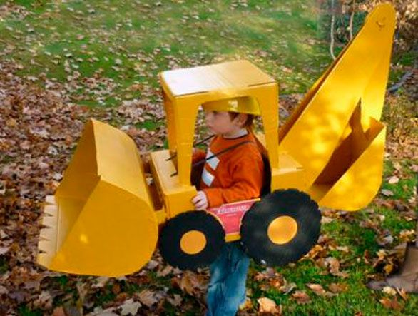 Crane costume, DIY costumes, disfraces - Carnival and halloween - Disfraz DIY de grua