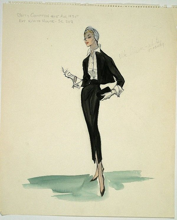 Stirred, Straight Up, with a Twist: Edith Head Gave Good Costume