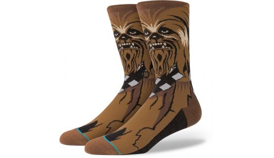 199:- Stance Chewie Socks Brown