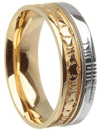 16 Best Images About Claddagh Wedding Rings On Pinterest