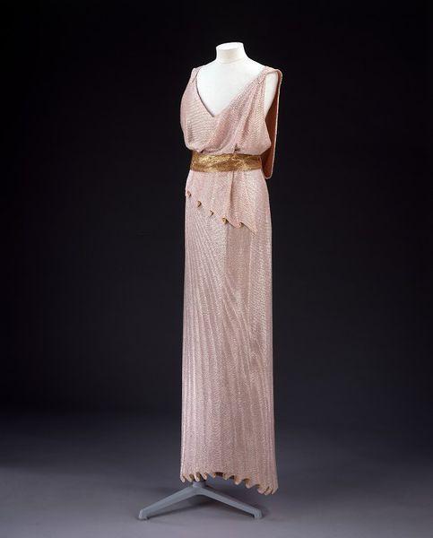 Evening Dress Jean Patou, 1932-1934 The Victoria & Albert...