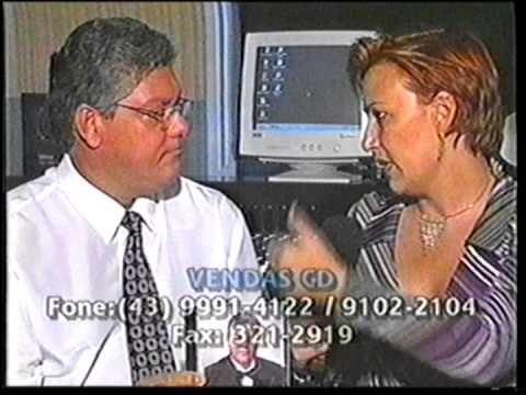 Samuel Lopes e Cloara Pinheiro na TV (entrevista) 1