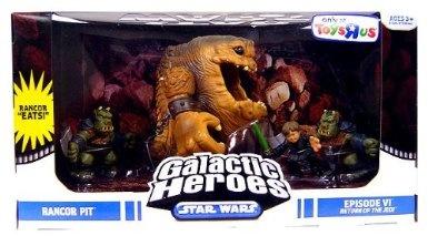 Amazon.com: Star Wars Galactic Heroes Mini Figure Rancor Pit Multi-Pack: Toys & Games