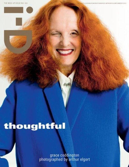 Grace Coddington for i-D