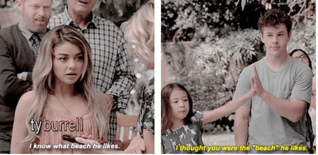 "She encourages a healthy amount of sass in any group. | 19 Reasons Lily From ""Modern Family"" Would Be The Best Friend Ever"
