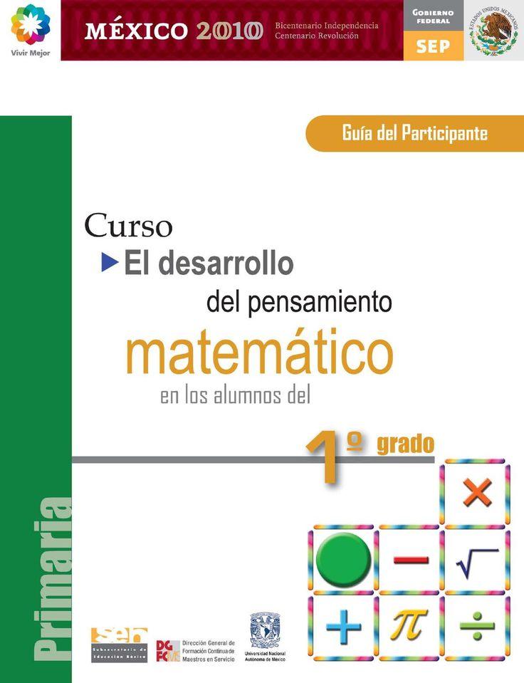 Curso de matemáticas  Cursos para primaria